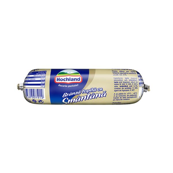 Hochland - Brânză topită baton cu smântână 100 gr.