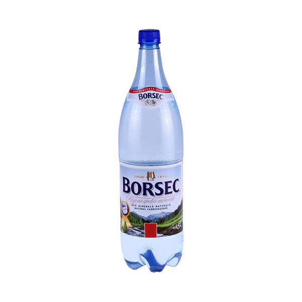 Borsec - Apă minerală carbogazoasă 1,5 L