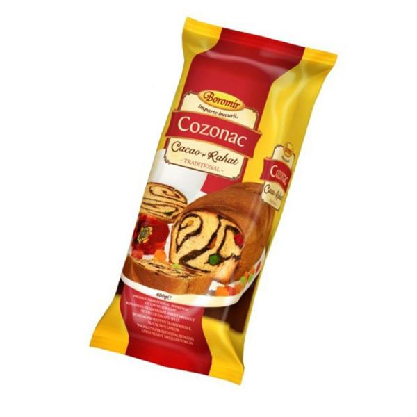 Boromir - Cozonac cu cacao și rahat 400 gr.