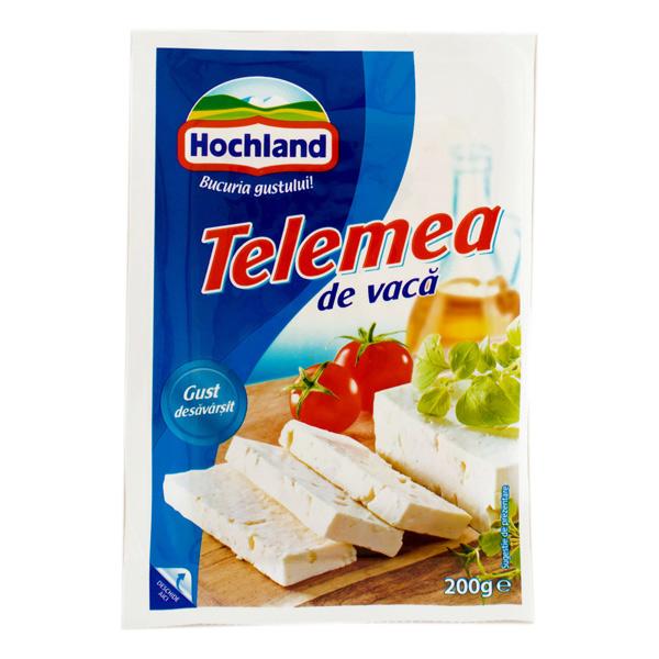 Hochland - Telemea de vacă 50% grăsime 200 gr.