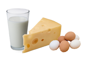 Lactate / ouă